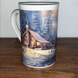Thomas Kincade Christmas Retreat Mug Cup
